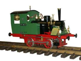 Ministeam Emil Locomotive Gauge 1 Kit